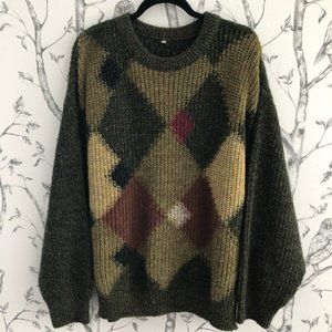 Vintage Oversized Grandpa Sweater Made in 🇮🇹